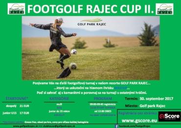 FootGolf Rajec Cup II.
