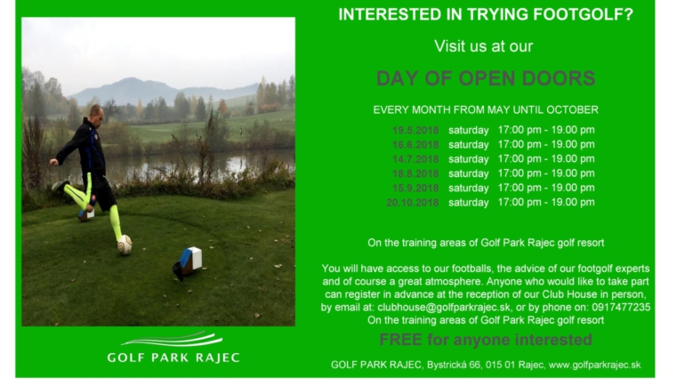 INTERESTED IN TRYING FOOTGOLF?