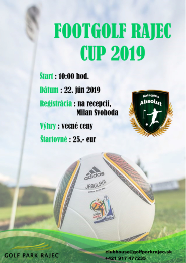 FOOTGOLF RAJEC CUP 2019